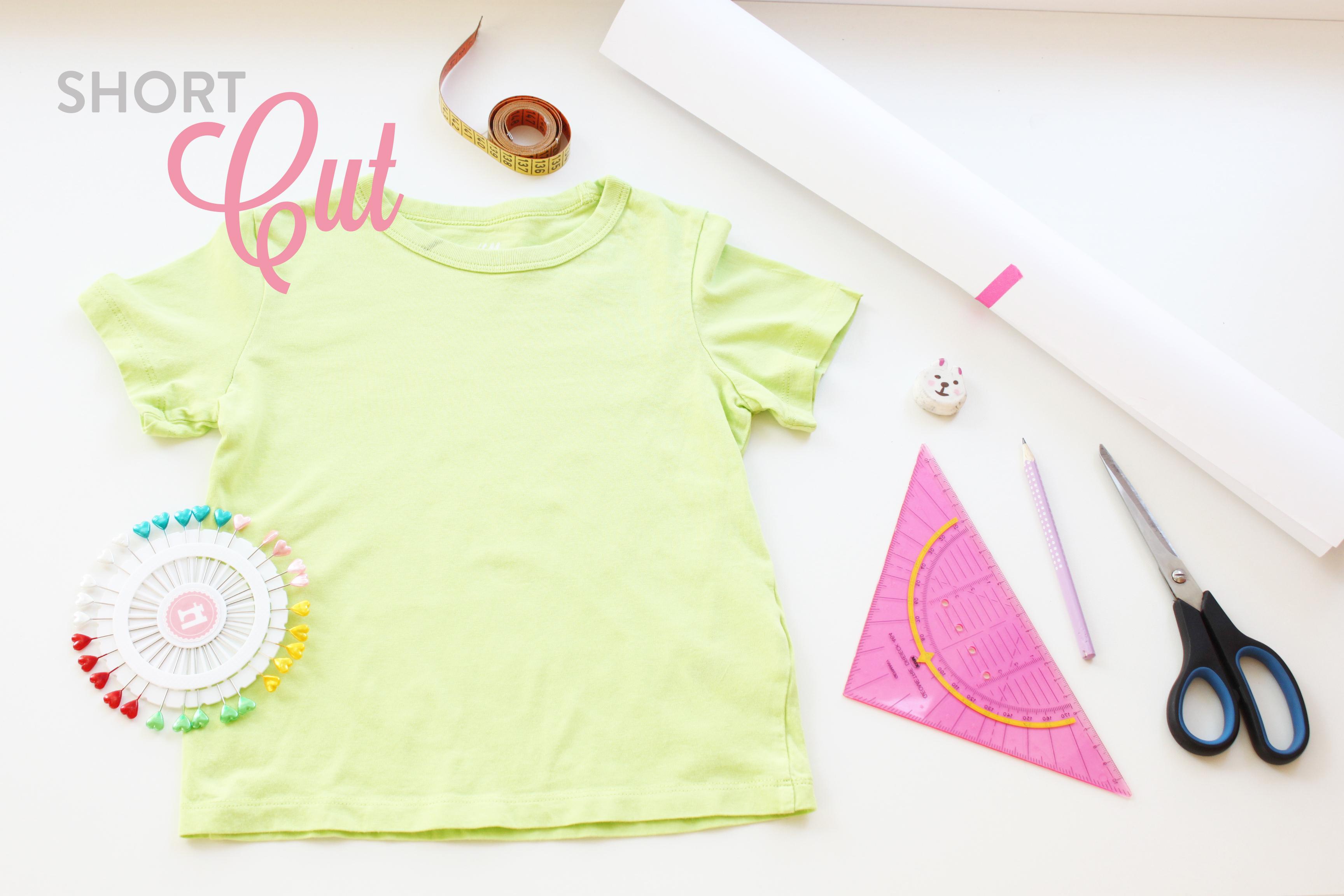 SHORTCUT: T-Shirt Schnittmuster - KOKO & DOLORES