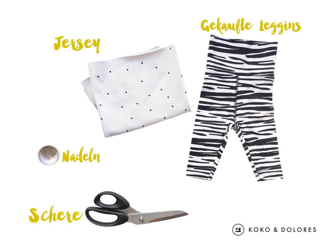 SHORT CUT: Baby-Leggins in 30 Minuten - KOKO & DOLORES