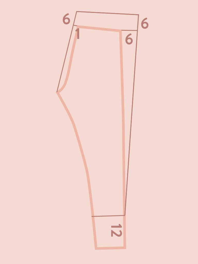 patterndrafting leggins